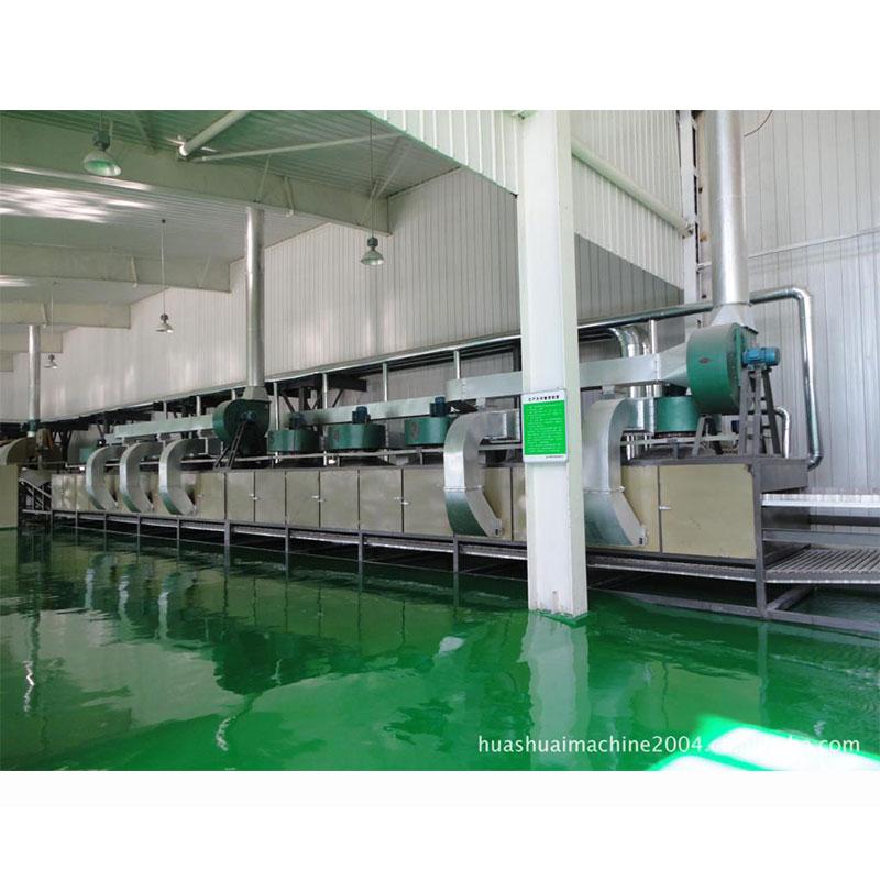 瓜子网带式干燥流水线
